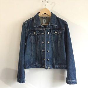 Gap Icon Blue Jean Denim Jacket Classic